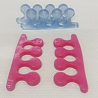 Разделители силиконовые для пальцев ног пара