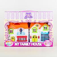Funny House: Игр.н-р Домик кукольный, со светом и звуком