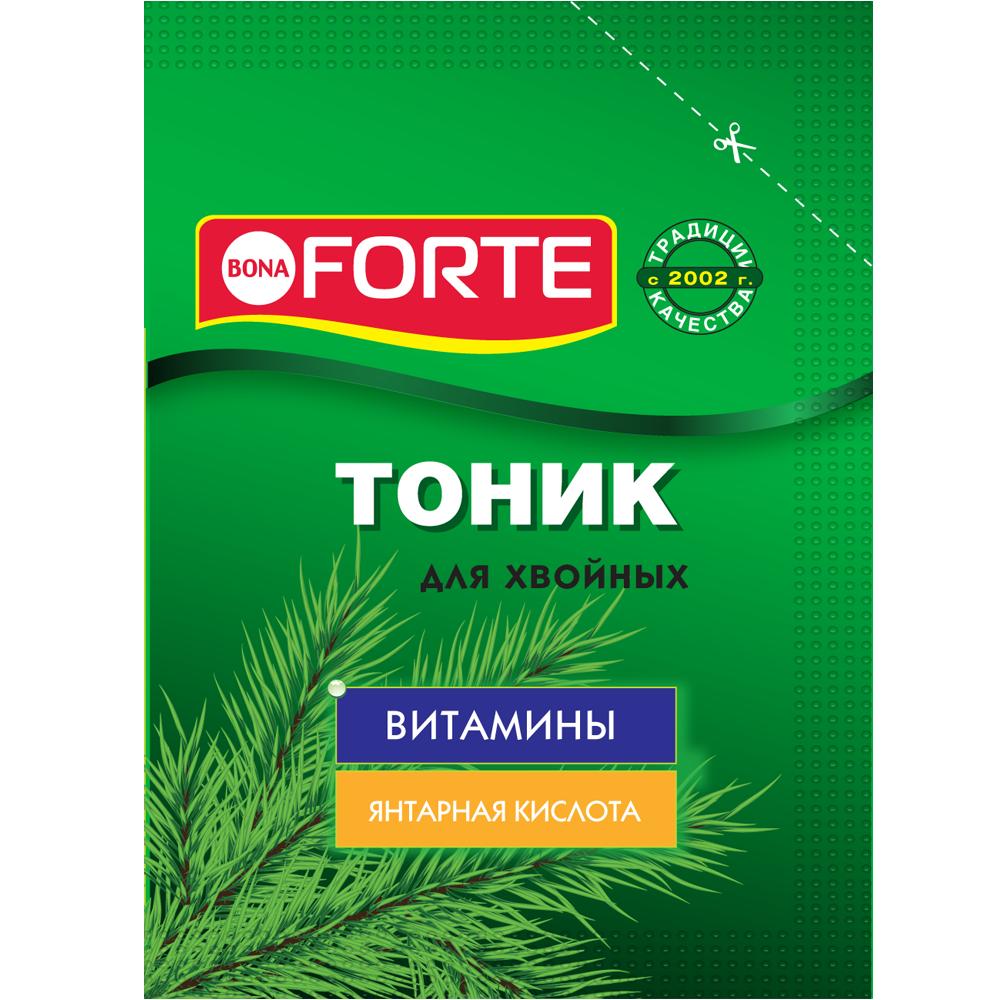 Bona Forte Средство тоник сухой для хвойных растений, пакет 15 г/ 72