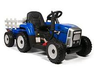Трактор с прицепом Barty TR 77 (Синий)