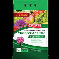 Bona Forte Удобрение Универсальное весна-лето с цеолитом, пакет 5 кг/ 5