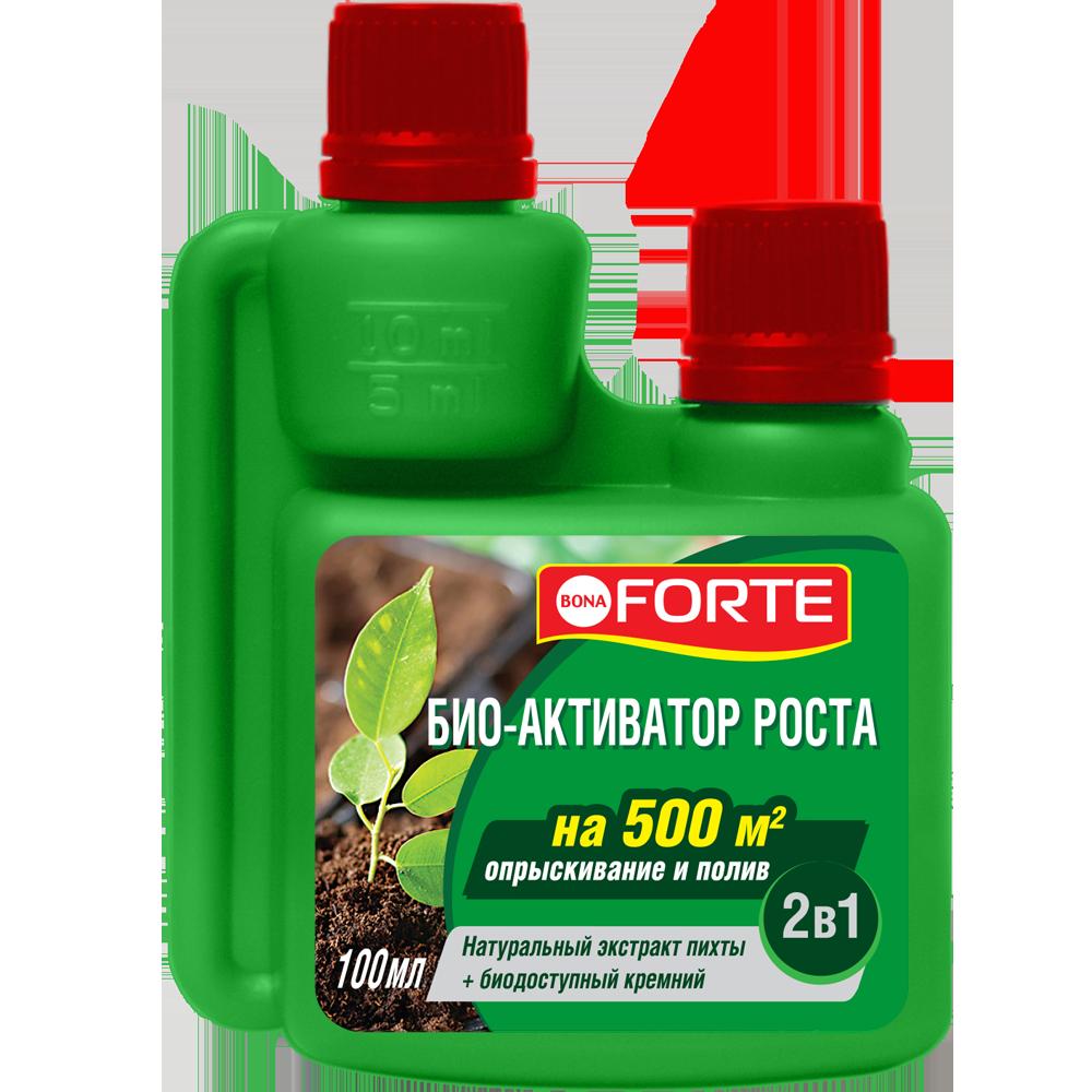 Bona Forte Био-активатор/стимулятор роста натуральный, флакон 100 мл / 10 шт.