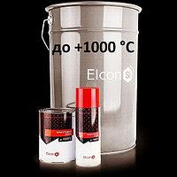 Термостойкая эмаль Elcon до +1000°С. Черная