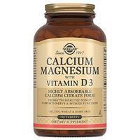 Solgar Кальций-Магний с витамином Д3 №150 табл