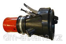 Резиновая насадка на спаренные выхлопные трубы а/м, для шланга 100 мм , WORKY (Италия) GRNGM-160100
