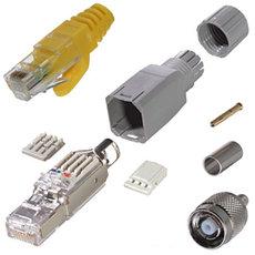 Сетевые коннекторы, модули и разъемы