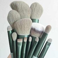 Кисти для макияжа, набор из 13 штук в мешочке