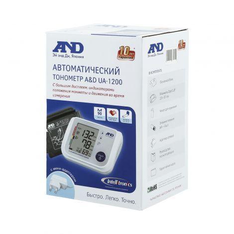 Тонометр AND  автоматический UA-1200 для всей семьи