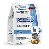 Гипоаллергенный корм Forza10 Diet для взрослых кошек, от проблем с пищеварением (Рыба) - 0.400