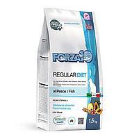 Гипоаллергенный корм Forza10 Diet для взрослых кошек, от проблем с пищеварением (Рыба) - 1.5 г
