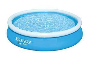 Большой надувной бассейн Bestway 57265 (Габариты: 244 х 66 см, на  2300 литров), фото 2