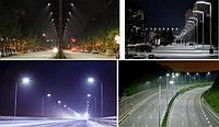 Светильники светодиодные консольные уличные, промышленные светильники, тоннельные светильники, фото 6