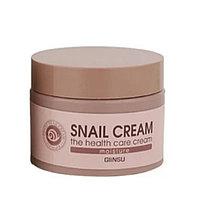 Увлажняющий крем для лица c улиточной слизью Giinsu Moisture Snail Cream (50 г)