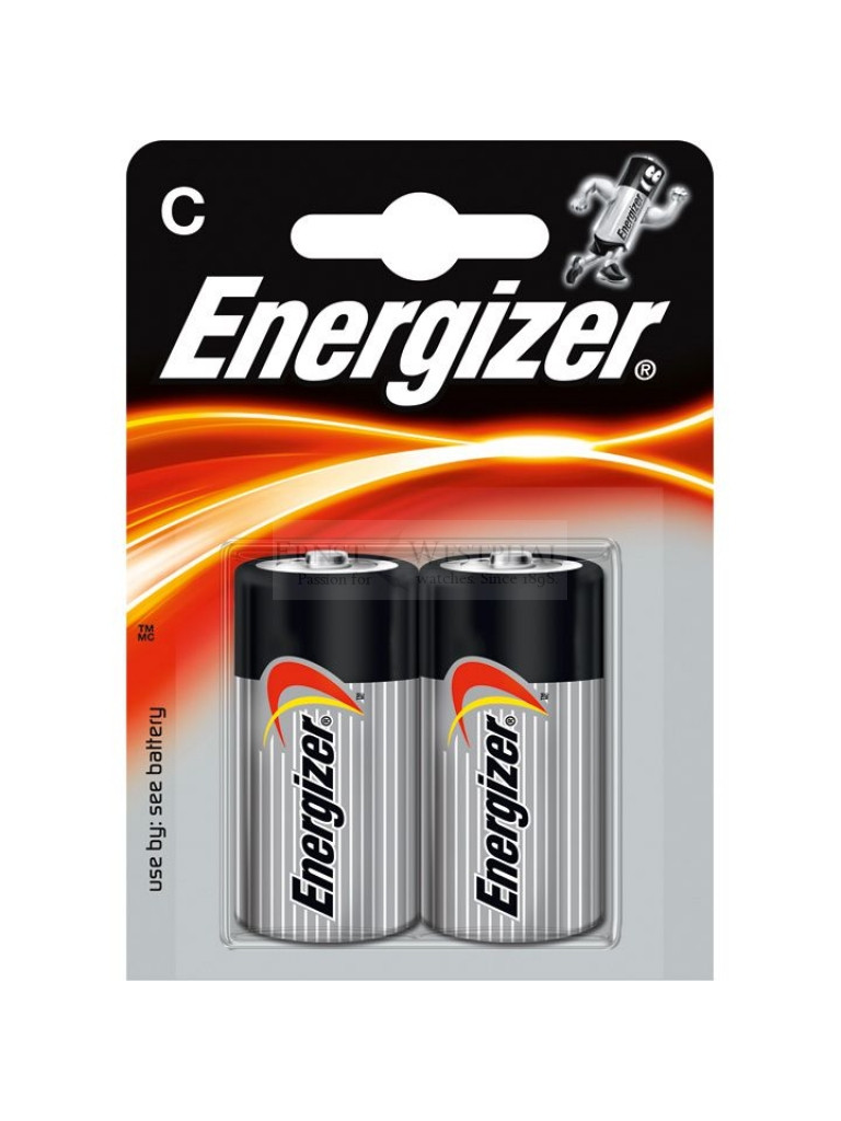Элемент питания LR14 С Energizer Power Alkaline 2 штуки в блистере