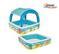 Надувной крытый бассейн для детей Bestwey 52192 (Габариты: 147*122 см)