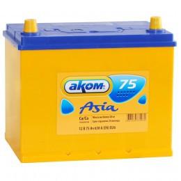 Аккумулятор АКОМ Asia 75L