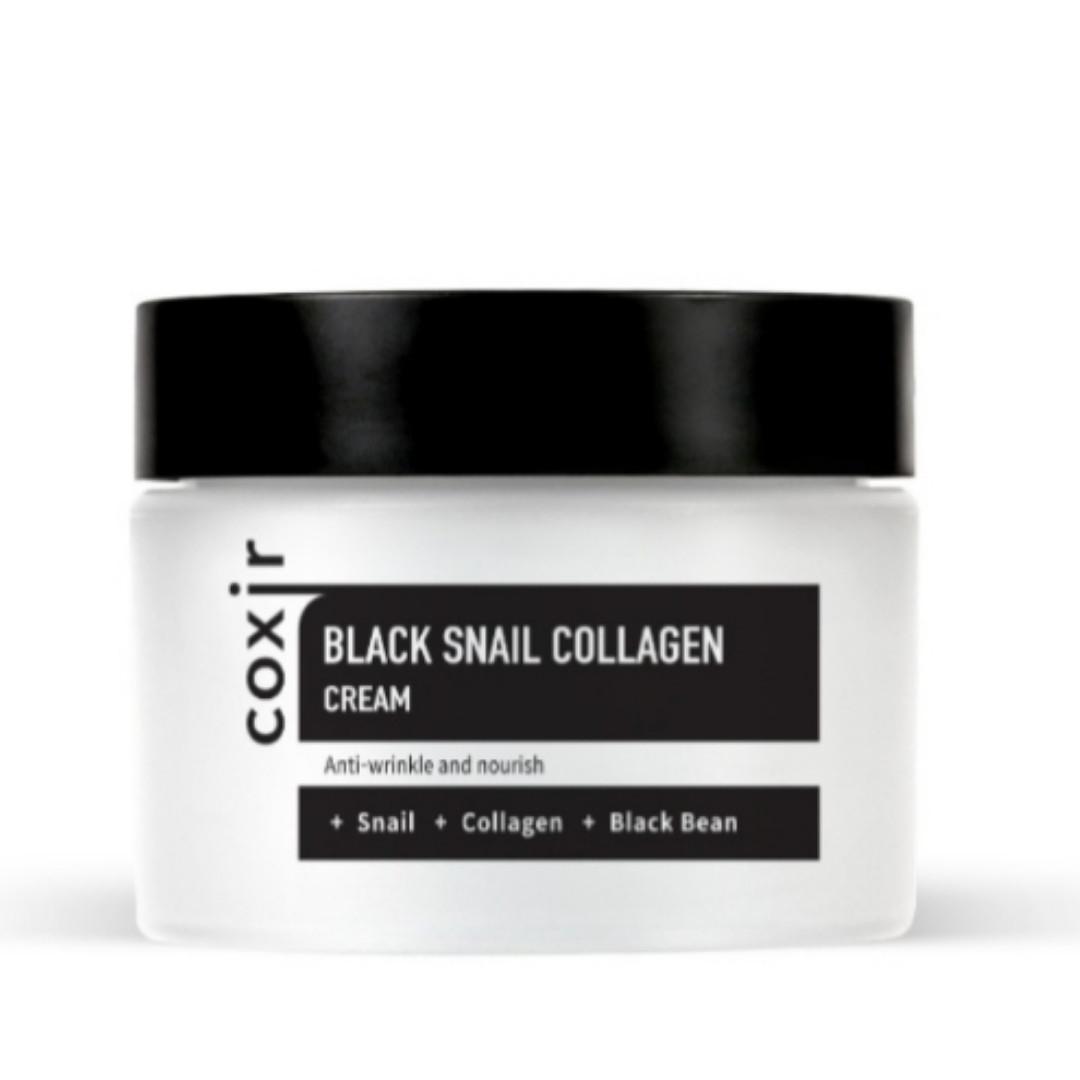 Антивозрастной крем для лица Coxir Black Snail Collagen Cream 50 ml