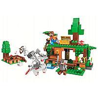 Конструктор BELA Minecraft Битва за сокровища 11138 (Аналог LEGO)