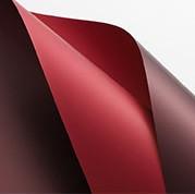 Пленка упаковочная. Рулонная. 20 ЛИСТОВ. Водонепрониц. 0,58 * 0,58 м. Цвет - ВИННО-КРАСНЫЙ + БАРДОВЫЙ - фото 1