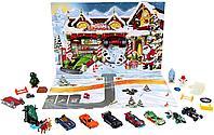 Hot Wheels рождественский набор Адвент Календарь, фото 1