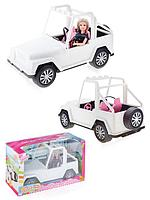 Кукла с автомобилем DEFA LUCY.