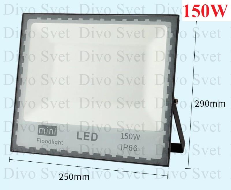 """Прожектор светодиодный """"Mini"""" 150W """"Стандарт"""" серия, эконом. LED Прожекторы освещения 150 Ватт."""