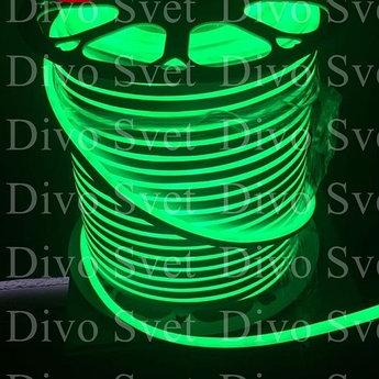 Флекс неон 8*16мм, цвет Зелёный SMD (3 ВАРИАНТА). Led Flex neon, светодиодная гибкая неоновая лента.