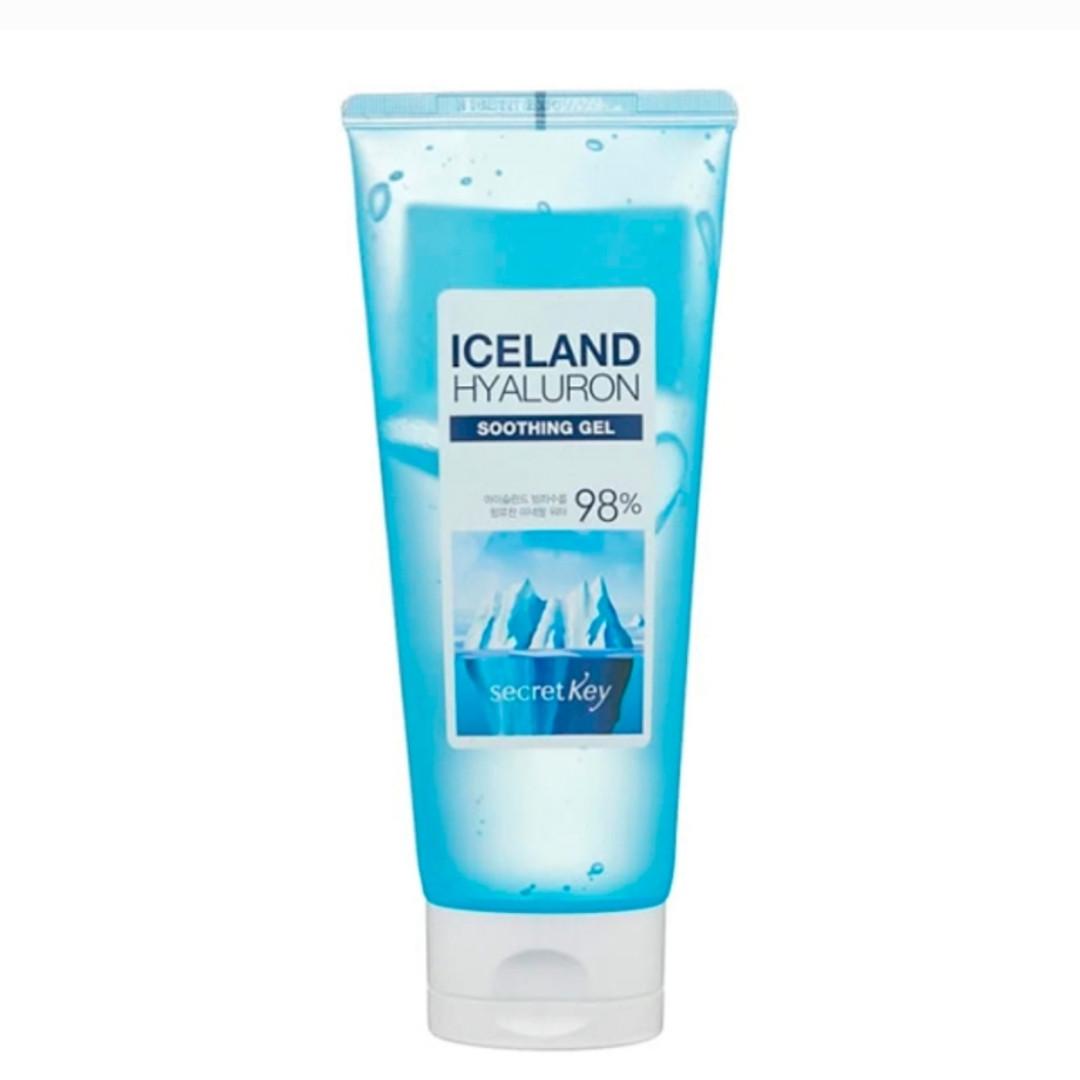 Многофункциональный гель с гиалуроновой кислотой SECRET KEY Iceland Hyaluron Soothing Gel 98%