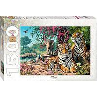 Пазлы Step Puzzle Тигры 83054