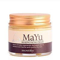 Крем для лица лечебный восстанавливающий SECRET KEY Mayu Healing Facial Cream 50 ml.