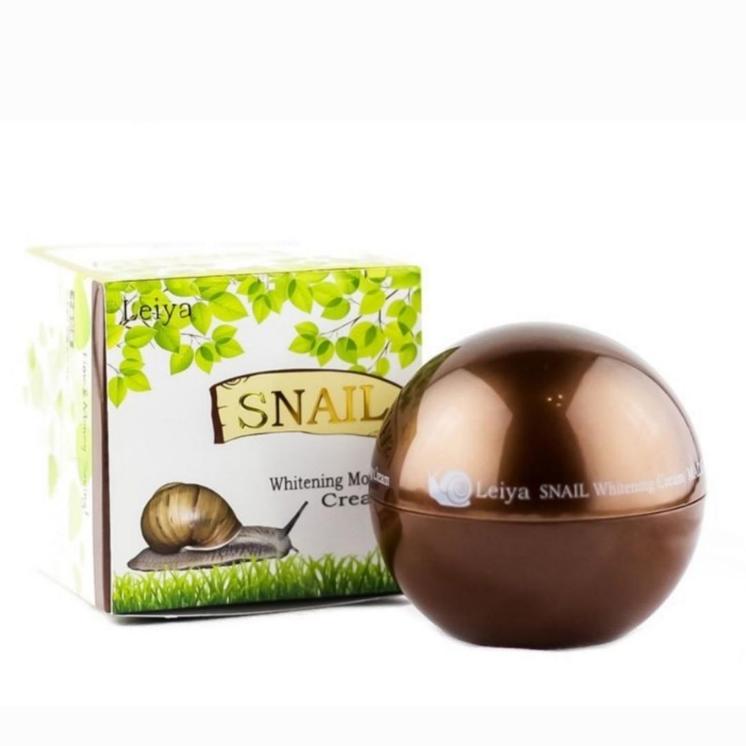 Крем для лица на основе Улитки Leiya Snail Cream 85 ml