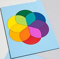 Головоломка «Колористический круг» 12 элементов, фото 1