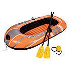 Лодка надувная Kondor 2000 Set 188 х 98 см, BESTWAY, 61062, Винил, Трёхкамерная, Грузоподъемность 120кг