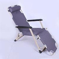 Складной шезлонг 3в1: кресло, шезлонг, раскладушка