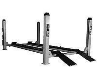 Подъемник четырехстоечный г/п 4500 кг. платформы для сход-развала KraftWell