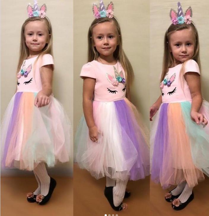 "Платье-единорог от бренда ""Eray Kids"" Турция"