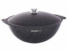 """Казан 6 литров """"Granit ultra"""" с каменным антипригарным покрытием"""
