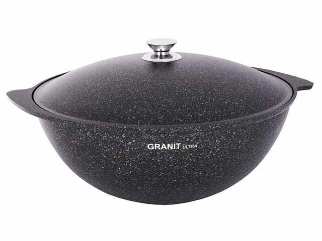 """Казан 7 литров """"Granit ultra"""" с каменным антипригарным покрытием"""