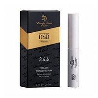 Сыворотка для роста ресниц Eyelash wonder serum de Luxe 3.4.6, 4 мл (Айлаш вондер серум Де Люкс)