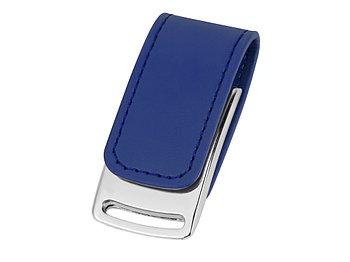 Флеш-карта USB 2.0 16 Gb с магнитным замком Vigo, синий/серебристый