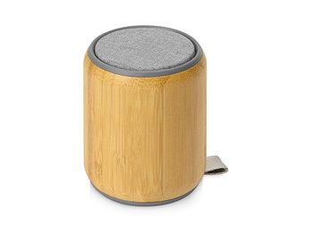 Портативная колонка из бамбука Bongo, натуральный