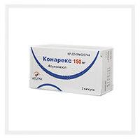 Конарекс 150мг №2 капс (флуконазол)