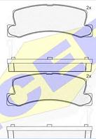 Тормозные колодки REMSA 214.14-AF
