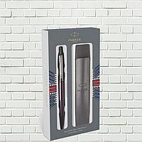 Набор подарочный Parker, ручка шариковая и оригинальный чехол для ручки Parker