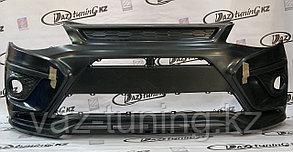 Бампер передний X-MUG Лада Калина-2