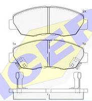 Тормозные колодки REMSA 324.12-AF
