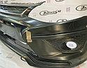 Бампер передний X-MUG Лада Калина-2, фото 3