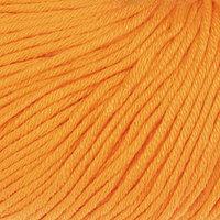 Пряжа 'Baby Cotton XL' 50 хлопок, 50 полиакрил 105м/50гр (3416 оранж.) (комплект из 5 шт.)