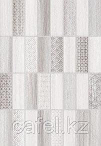 Кафель | Плитка настенная 28х40 Нидвуд | Nidwood 1Д серый