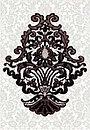 Кафель | Плитка настенная 28х40 Органза | Organza черный, фото 2
